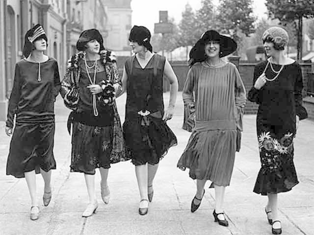 nők a húszas években