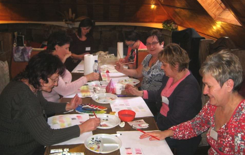 festős workshop