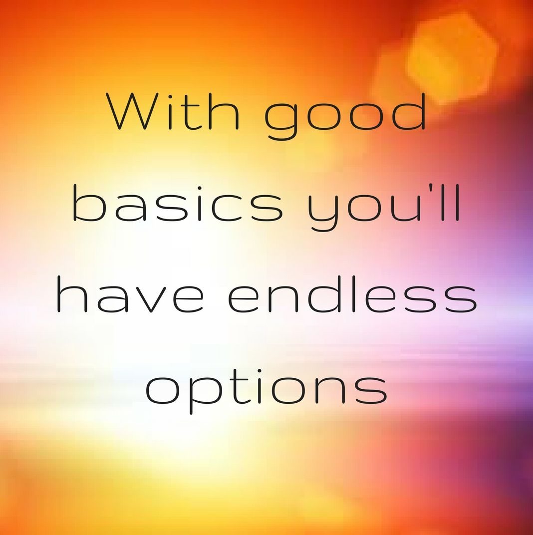 quotes With good basics