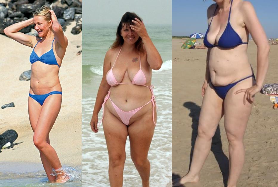 Előnytelen fürdőruhák 3 - A túl kicsi bikini