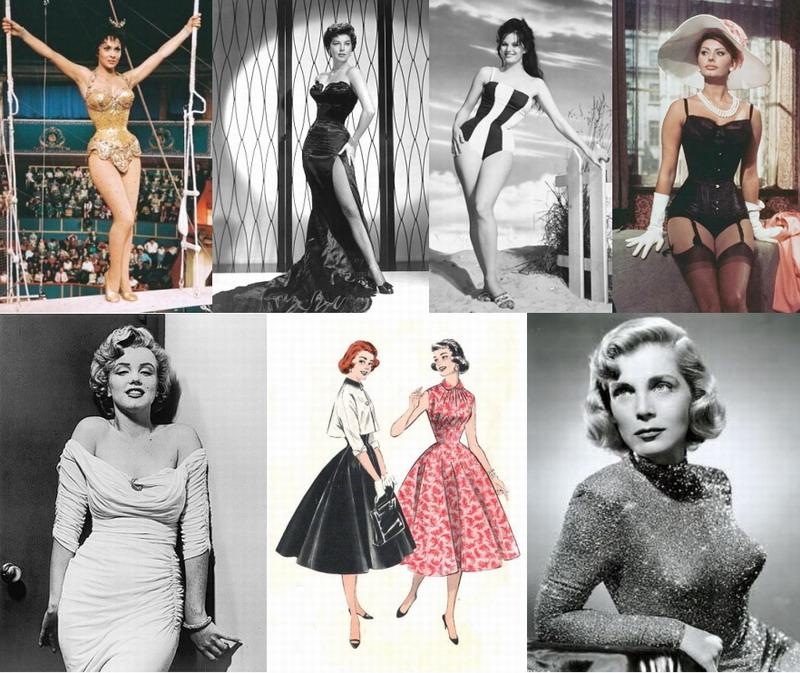 az ötvenes évek női alakja