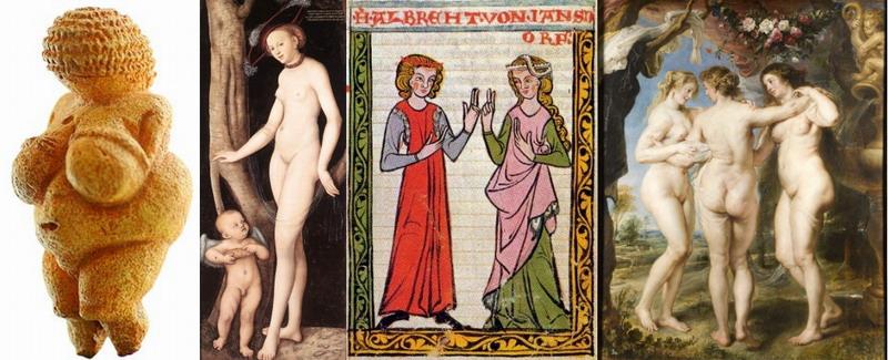 középkori nőideál
