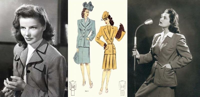 a negyvenes évek női