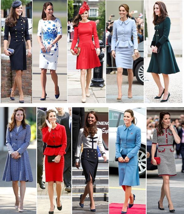 divat a politikában Kate Middleton