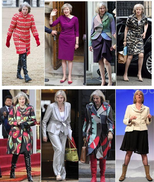 divat a politikában Theresa May