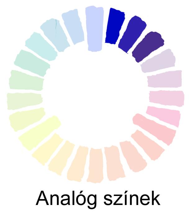 analóg színek