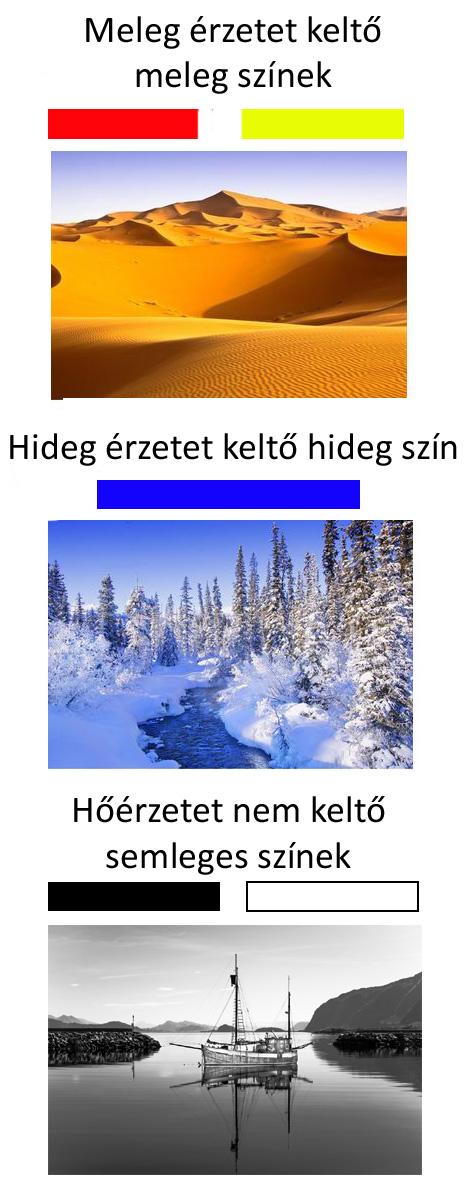 hideg színek meleg színek tájak 2