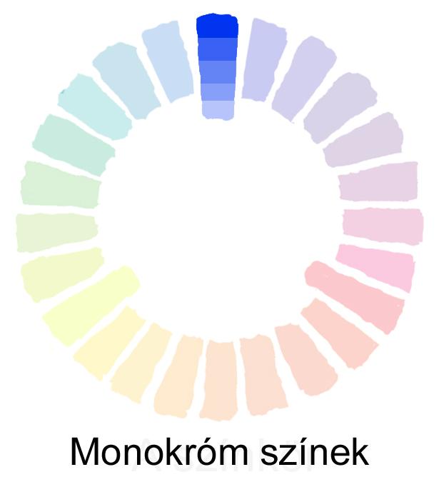 monokróm színek