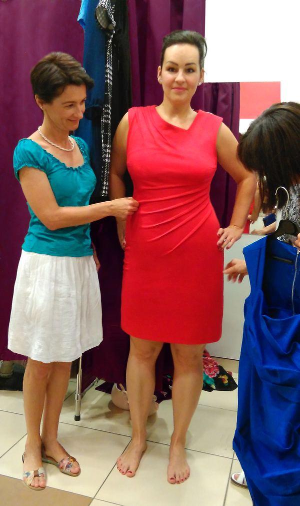 stílustanácsadó képzés - gyakoroljuk a vásárlást