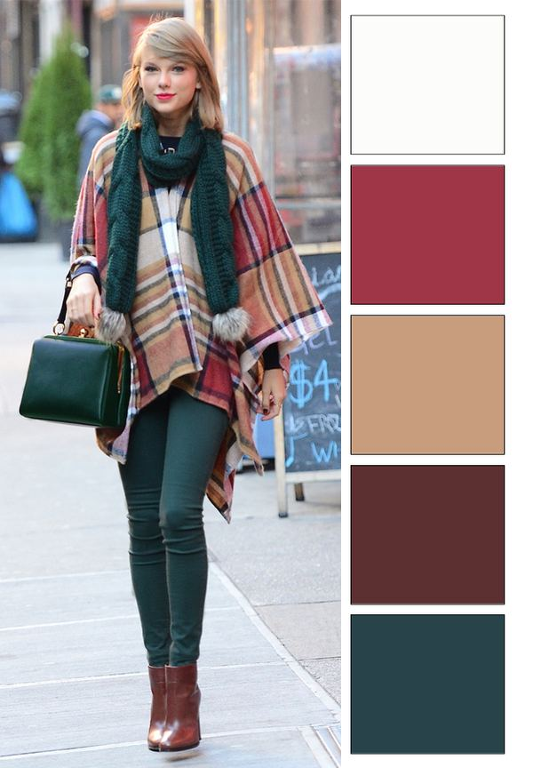 ősz színtípus színei (1)
