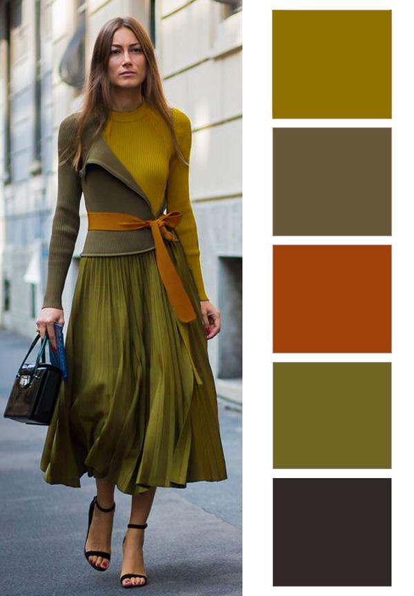 ősz színtípus színei (2)