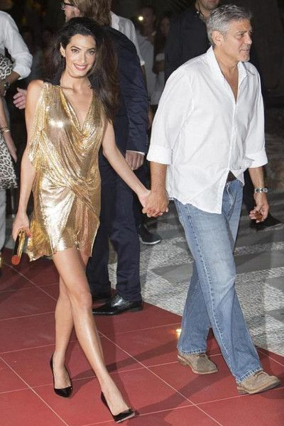 Amal Clooney és a mini (2)