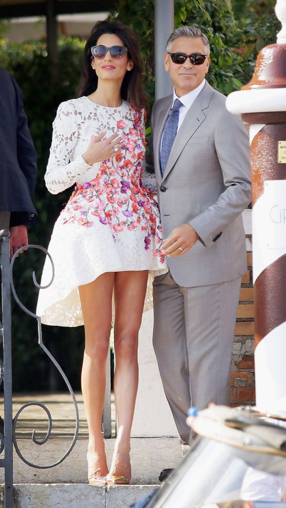 Amal Clooney és a mini (5)