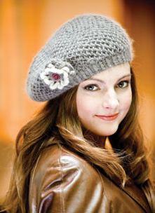 női sapka barett (3)