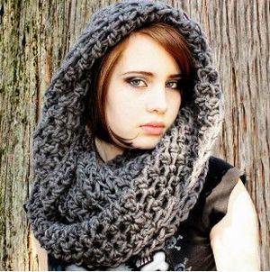 női sapka sálas (3)