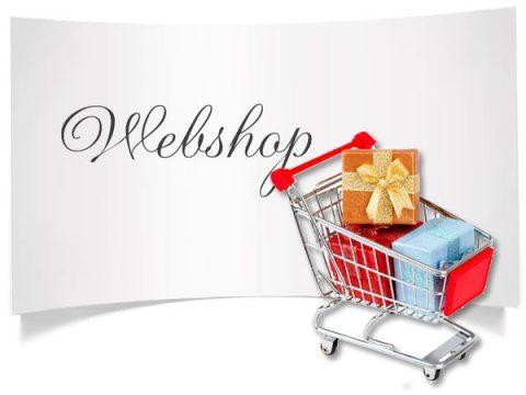 webshop kártya